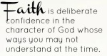 FAITH is deliberate (2)